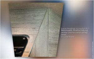 Raumdesign Wand mit Betondekor - Betonoptik