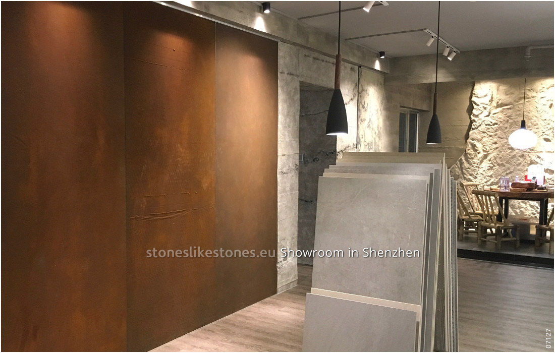 StoneslikeStones Aktivität In China 07127 – Showroom In Shenzhen