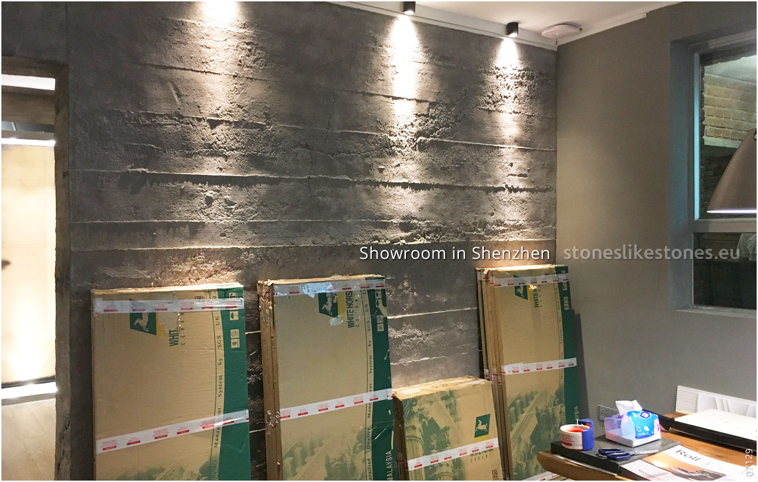 StoneslikeStones Aktivität In China 07129 – Showroom In Shenzhen