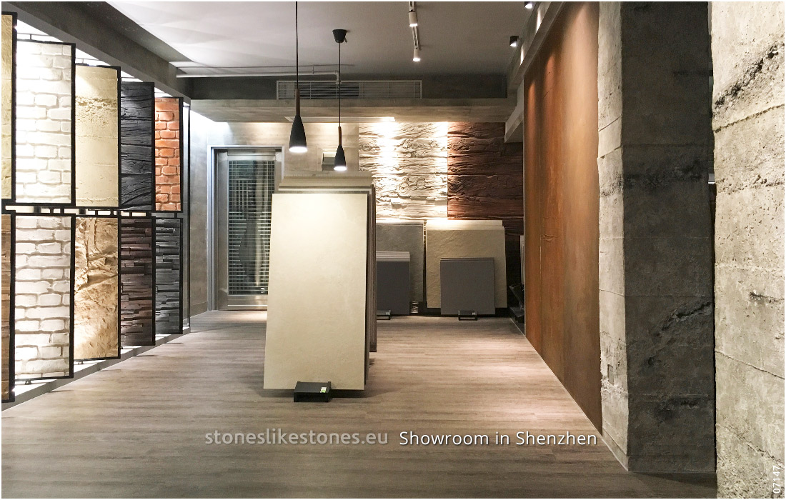 StoneslikeStones Aktivität In China 07147 – Showroom In Shenzhen