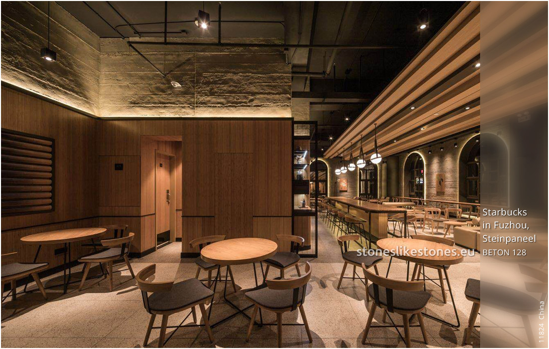 StoneslikeStones China 11824 Beton Starbucks In Fuzhou WZ