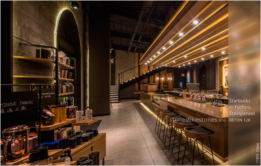 StoneslikeStones China 11825 Beton Starbucks In Fuzhou WZ